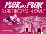 Pluk en Plok bij Sint Nicolaas in Spanje