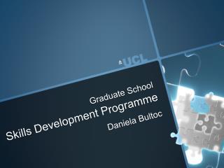 Skills Development Programme Daniela  Bultoc