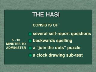 THE HASI