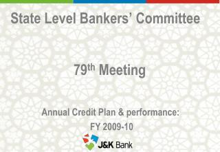 State Level Bankers' Committee