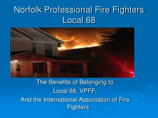 Norfolk Professional Fire Fighters Local 68
