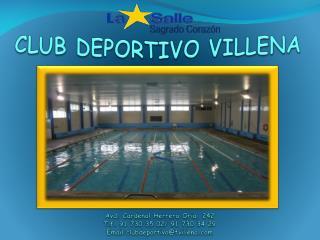 CLUB DEPORTIVO VILLENA