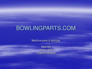 BOWLINGPARTS.COM