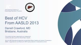 Best of HCV From AASLD  2013