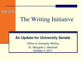The Writing Initiative