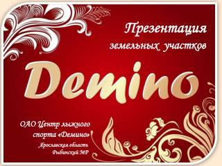 ОАО Центр лыжного  спорта «Демино»
