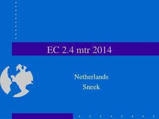 EC 2.4 mtr 2014