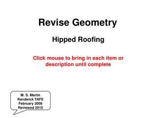 Revise Geometry