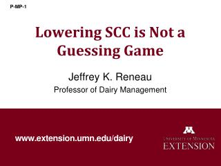 Lowering SCC is Not a Guessing Game