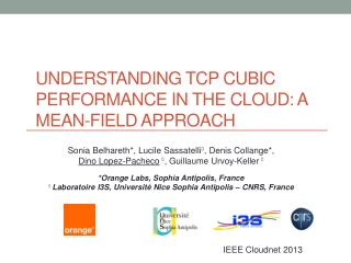 Understanding TCP Cubic Performance in the Cloud: a Mean-field Approach