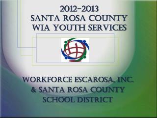 2012-2013  Santa Rosa county WIA Youth Services