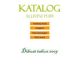 KATALOG Alumni PI-89