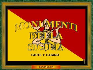 MONUMENTI DELLA SICILIA