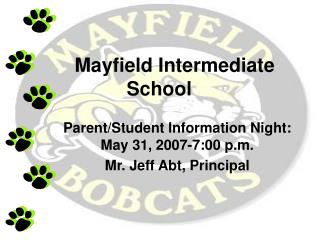 Mayfield Intermediate School