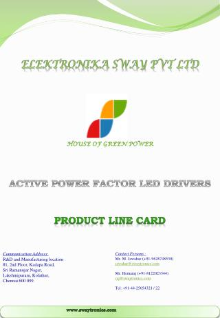 Elektronika Sway Pvt Ltd