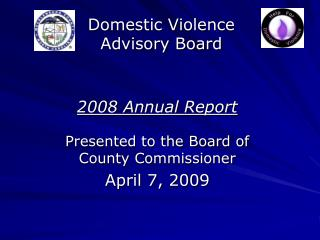 Domestic Violence Advisory Board