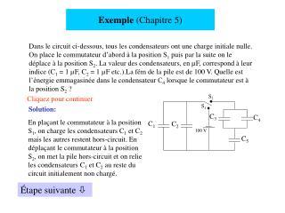Exemple  (Chapitre 5)