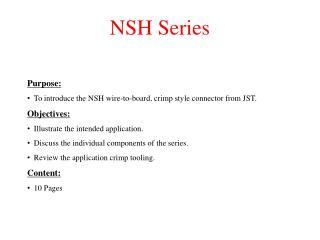 NSH Series