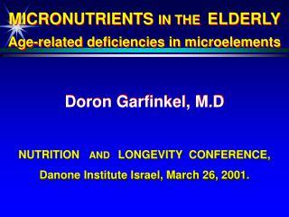 Doron Garfinkel , M.D