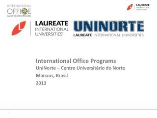International Office  Programs