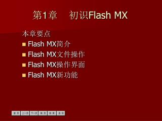? 1 ?    ?? Flash MX