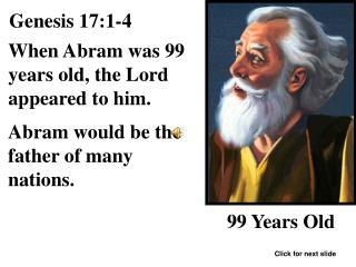 Genesis 17:1-4