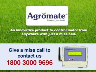 Give a miss call to contact us 1800  3000 9696