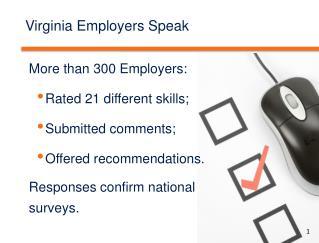 Virginia Employers Speak