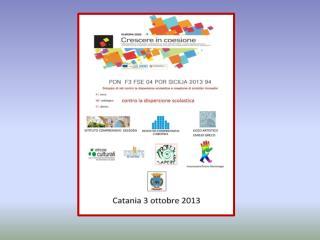 Pon F3 FSE 04 POR SICILIA 2013 94 RI.ME.DI. contro la dispersione scolastica