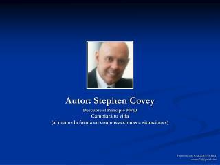 Autor: Stephen Covey