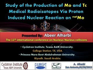 Cyclotron Institute, Texas A&M University, College Station, TX, USA.