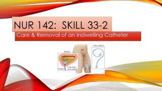NUR 142:  SKILL 33-2