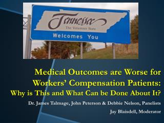 Tennessee  Division of Workers' Compensation  17 th  Annual Meeting June 19, 2014 9 to 10 AM