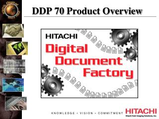 DDP 70 Product Overview
