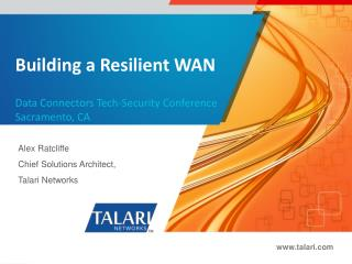 Building a Resilient WAN