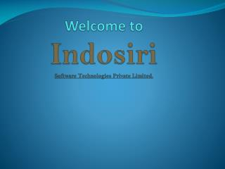 Welcome to  Indosiri Software Technologies Private Limited.