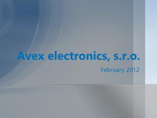 Avex electronics, s.r.o.
