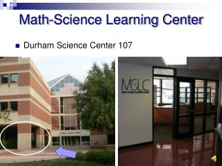 Math-Science Learning Center