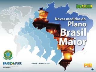 Ilmo. Sr. MÁRCIO HOLLAND DE BRITO Secretário de Política Econômica Ministério da Fazenda