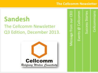 The  Cellcomm  Newsletter