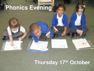 Phonics Evening