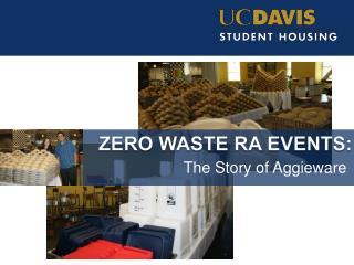 Zero Waste RA Events:
