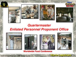 Quartermaster Enlisted Personnel Proponent Office