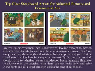 Artists Storyboard Los Angeles