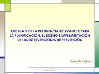 Sonia Mayordomo
