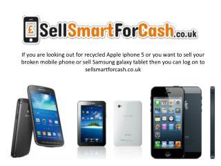 Sell broken mobile phone