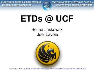 ETDs @ UCF