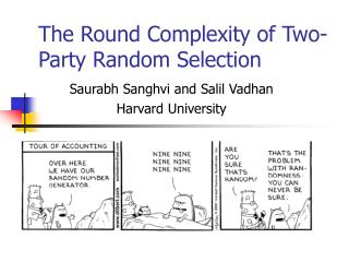 The Round Complexity of Two-Party Random Selection
