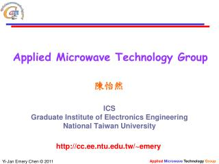 Applied Microwave Technology Group
