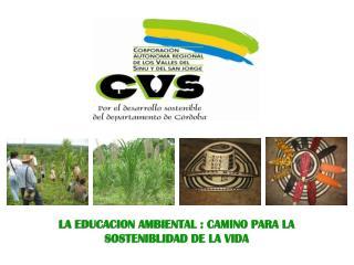 LA EDUCACION AMBIENTAL : CAMINO PARA LA SOSTENIBLIDAD DE LA VIDA